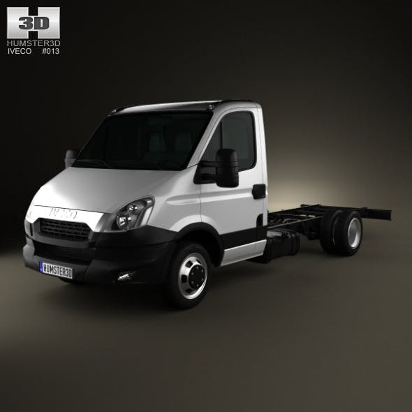 Iveco Daily Single Cab Chassis 2012 - 3DOcean Item for Sale