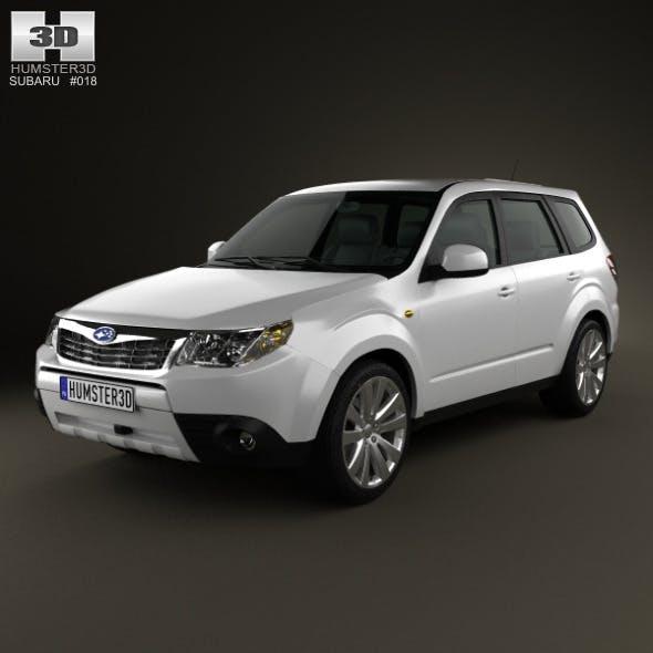 Subaru Forester Premium 2011 - 3DOcean Item for Sale