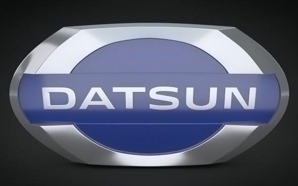 Datsun Logo - 3DOcean Item for Sale