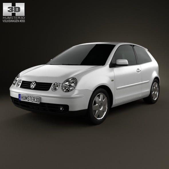 Volkswagen Polo Mk4 3-door 2001 - 3DOcean Item for Sale
