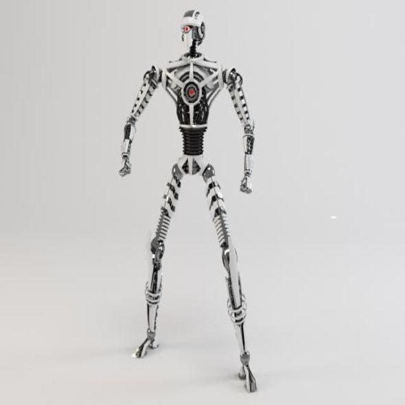 Robot SIN230 - 3DOcean Item for Sale