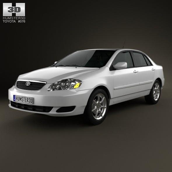 Toyota Corolla (E120) 2005 - 3DOcean Item for Sale
