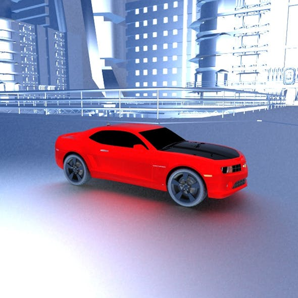 Chevy Camero Muscle Car - 3DOcean Item for Sale