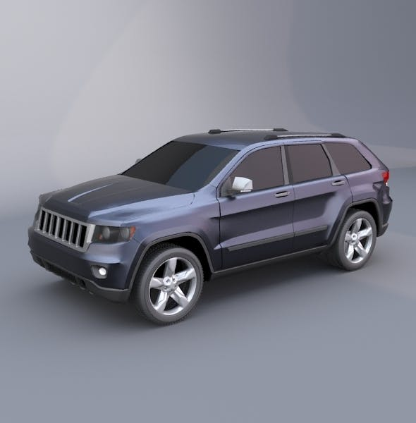 Jeep grand cherokee 2011 suv vehicle - 3DOcean Item for Sale