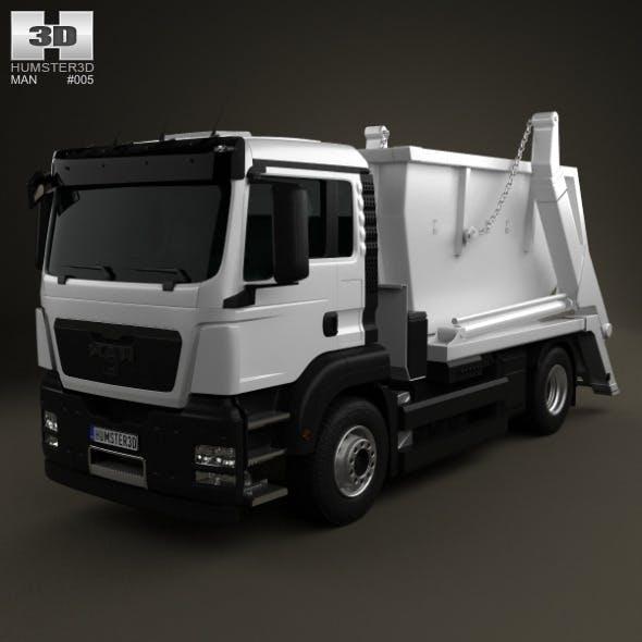TGS Skip Loader Truck 2012