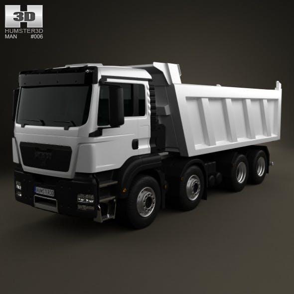 MAN TGS Tipper Truck 2012 - 3DOcean Item for Sale