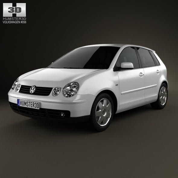 Volkswagen Polo Mk4 5-door 2001 - 3DOcean Item for Sale
