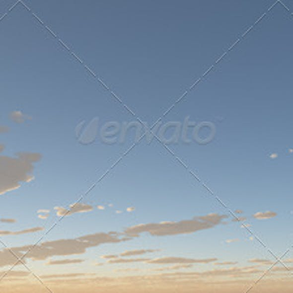 Cubemap Skybox - Bright Blue