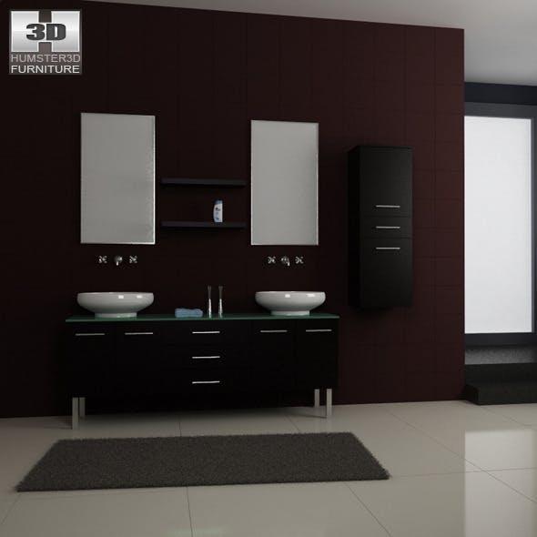 Bathroom furniture 04 Set - 3DOcean Item for Sale