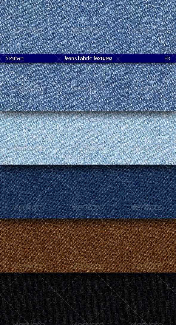 Jeans Fabric Texture - 3DOcean Item for Sale