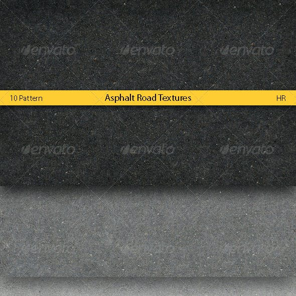Asphalt Road Surface Textures