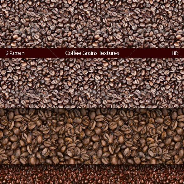 Coffee Grains Texture