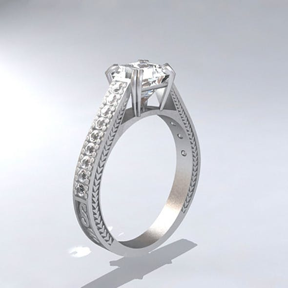 Re-Review Platinum Diamond Ring