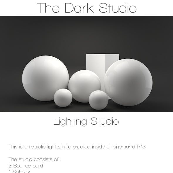 The dark studio