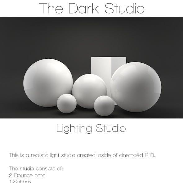 The dark studio