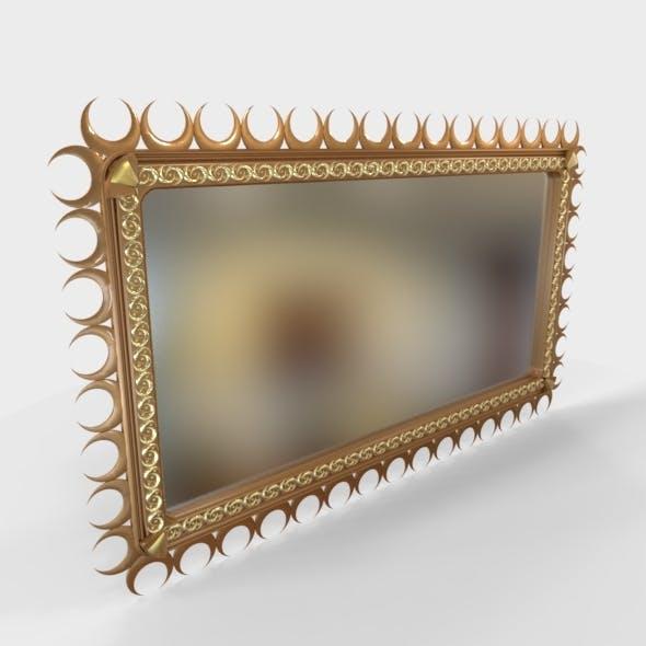 Mirror Decorative with Jewellery