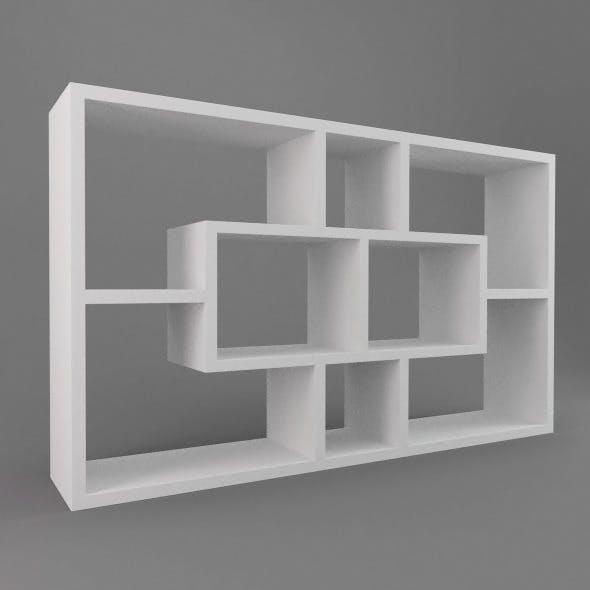 Modern Shelves - 3DOcean Item for Sale
