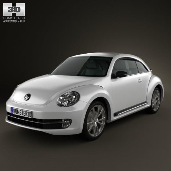 Volkswagen Beetle 2012 - 3DOcean Item for Sale