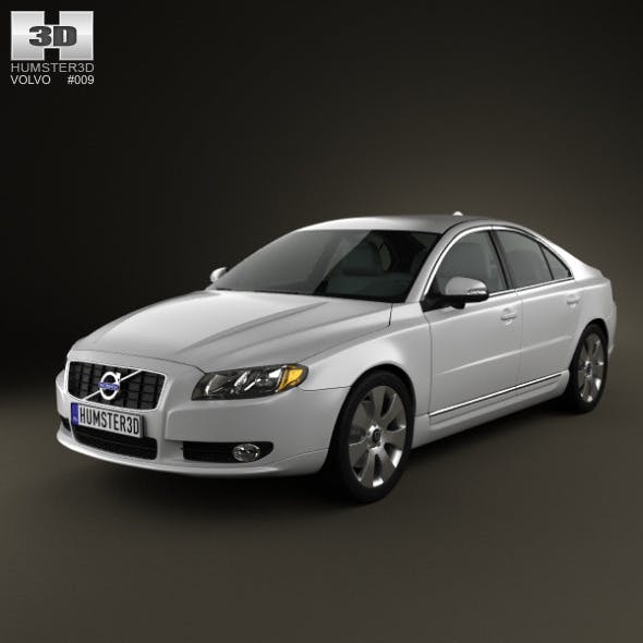 Volvo S80 2011 - 3DOcean Item for Sale