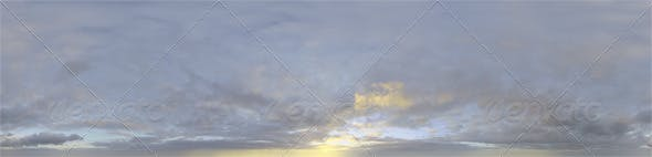Skydome HDRI - Sunset Clouds IV - 3DOcean Item for Sale