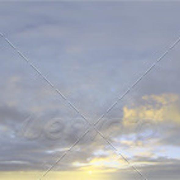 Skydome HDRI - Sunset Clouds IV