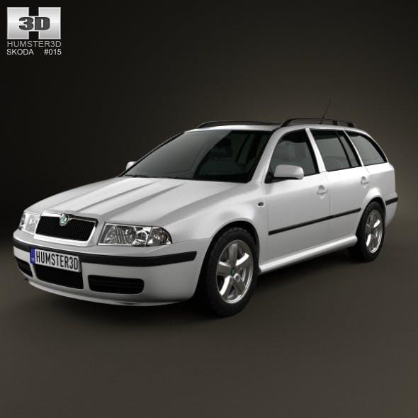 Skoda Octavia Tour Combi 2000 - 3DOcean Item for Sale