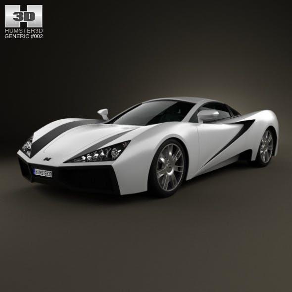 Generic Sport Car 2013 - 3DOcean Item for Sale