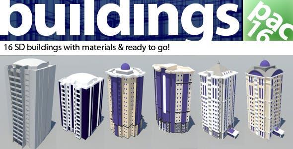 Building pac - 3DOcean Item for Sale