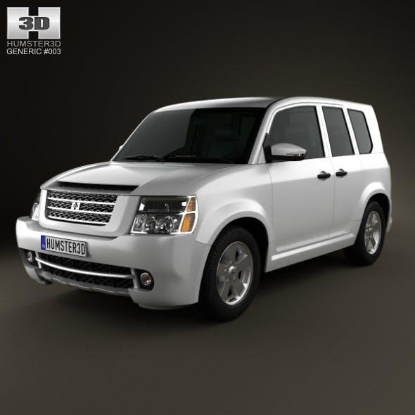 Generic SUV 2013 - 3DOcean Item for Sale