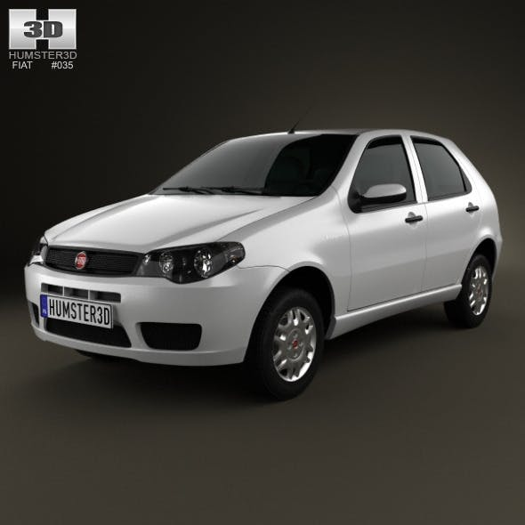 Fiat Palio Fire Economy 2012 - 3DOcean Item for Sale