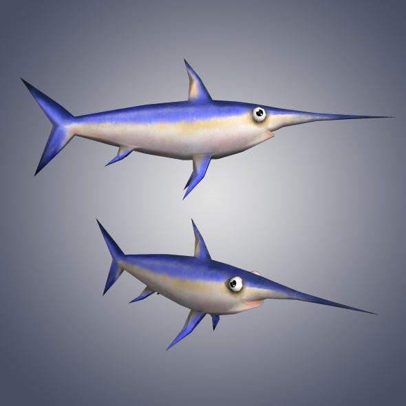 Low Poly Sword Fish