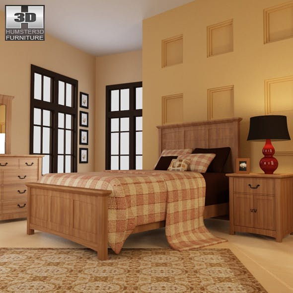 Bedroom Furniture 23 Set