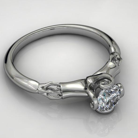 Diamond Ring NRC10 - 3DOcean Item for Sale