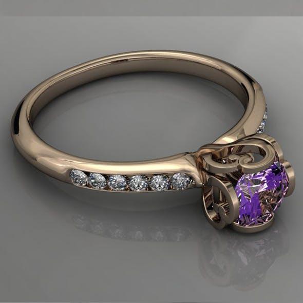 Diamond Ring NRC11 - 3DOcean Item for Sale