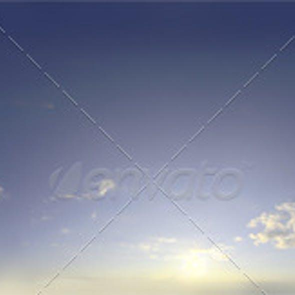 Skydome HDRI - Sunset Clouds V