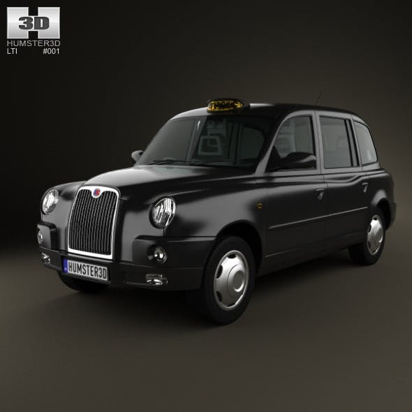 LTI TX4 London Taxi - 3DOcean Item for Sale
