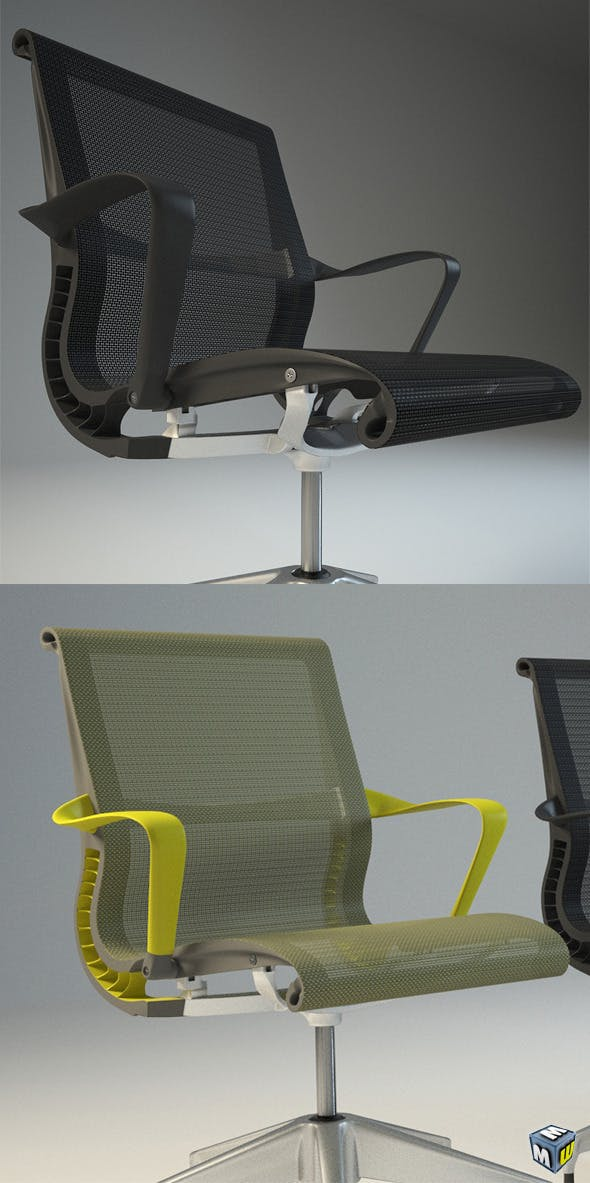 Herman Miller Setu Chair Max 2010-2011 - 3DOcean Item for Sale