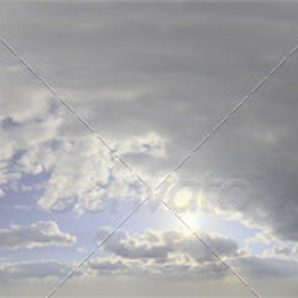 Skydome HDRI - Storm Clouds