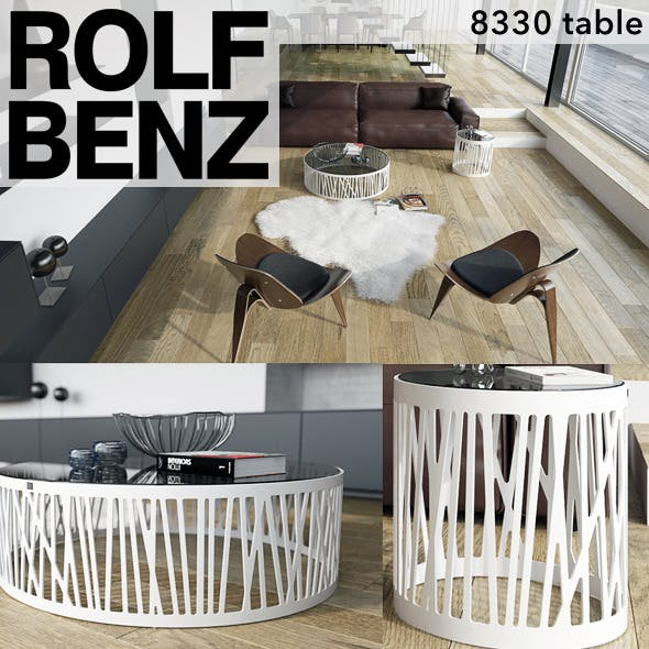 Rolf Benz 8330 table - 3DOcean Item for Sale