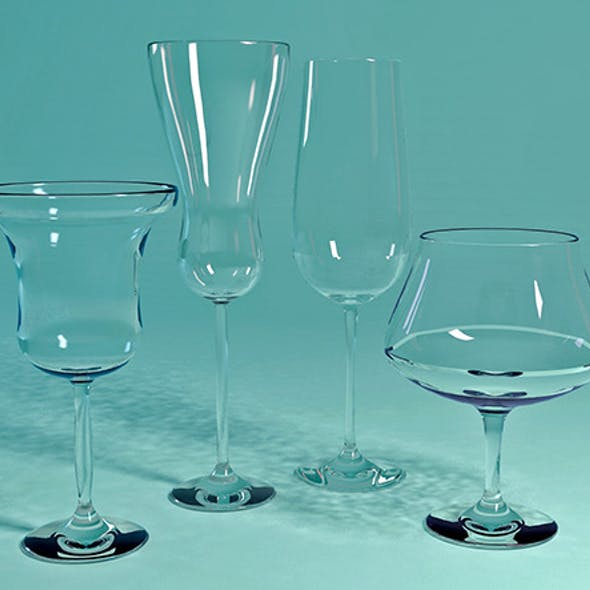 Four Different Glass Materials