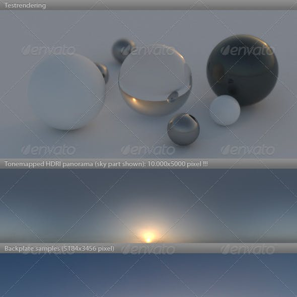 HDRI spherical sky panorama -0805-  fog & mist