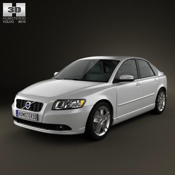 Volvo S40 2011 - 3DOcean Item for Sale