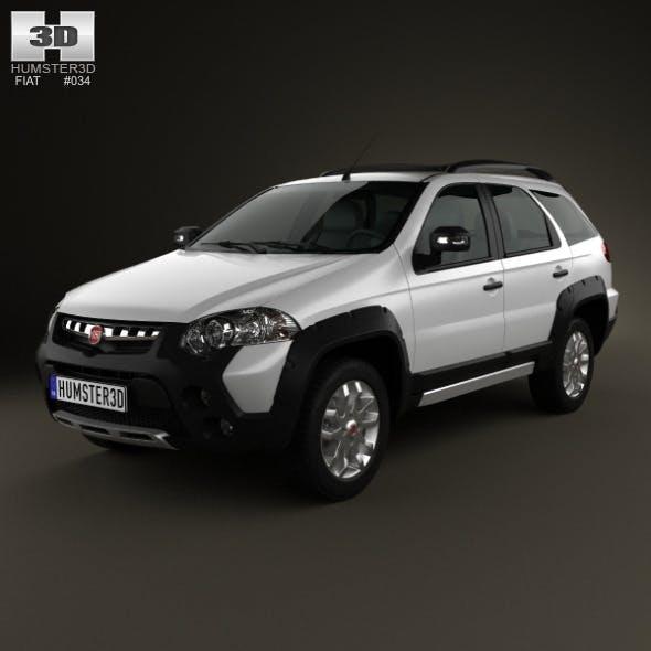 Fiat Palio Adventure 2012 - 3DOcean Item for Sale