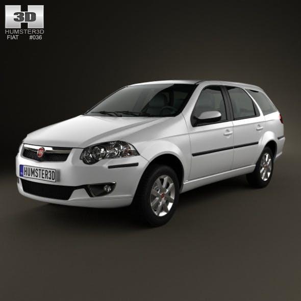 Fiat Palio Weekend 2012 - 3DOcean Item for Sale