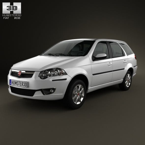 Fiat Palio Weekend 2012