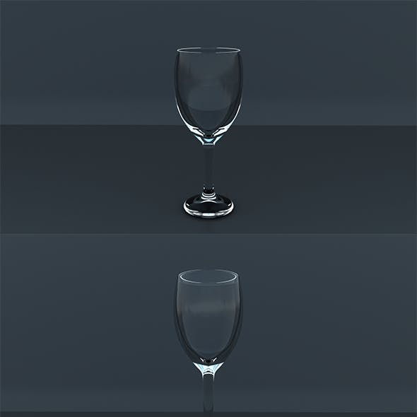 Realistic Drinking Glass