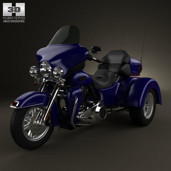 Harley-Davidson Tri Glide Ultra Classic 2012 - 3DOcean Item for Sale