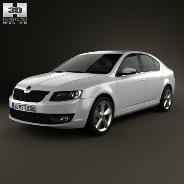 Skoda Octavia 2013 - 3DOcean Item for Sale