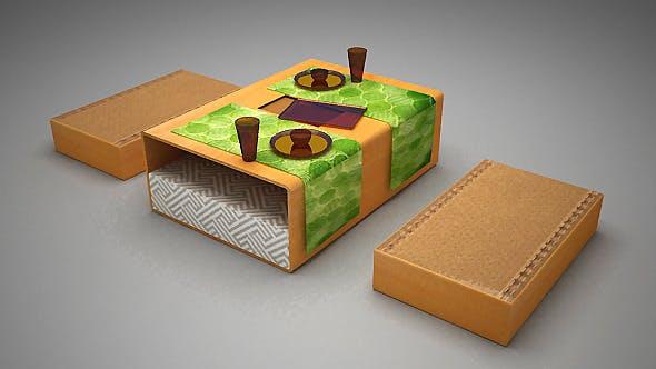 Lower Floor table - 3DOcean Item for Sale