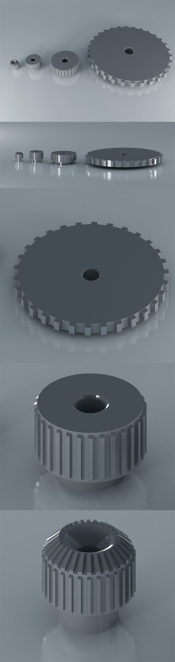Gears - 3DOcean Item for Sale